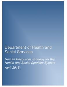 Department of Health and Social Services
