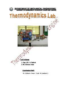 DEPARTMENT OF MECHANICAL ENIGINEERING, UNIVERSITY OF ENGINEERING & TECHNOLOGY LAHORE (KSK CAMPUS)
