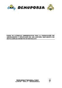 DEPORTIVA MUNICIPAL DE PORTUGALETE, S.A