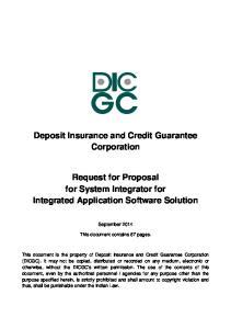 Deposit Insurance and Credit Guarantee Corporation