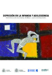 Depresión en la infancia y adolescencia. Información para el paciente, familiares y personas interesadas