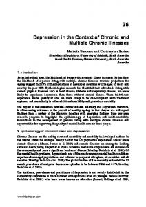 Depression in the Context of Chronic and Multiple Chronic Illnesses