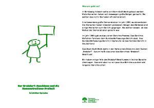 Der Brokdorf-Beschluss und die Demonstrations-Freiheit