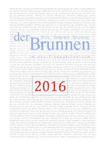 DER BRUNNEN FREQUENZEN 2016