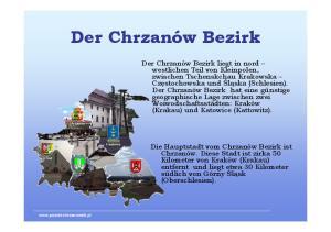 Der Chrzanów Bezirk