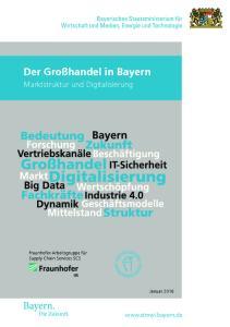 Der Großhandel in Bayern