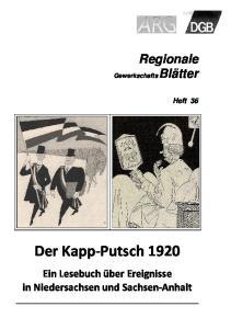 Der Kapp-Putsch 1920