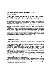 Der Lebensbaum und der brennende Dornbusch (Ex 3, 1-12)