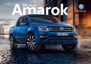Der neue Amarok. 100 % Pickup. 100 % Premium