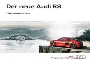 Der neue Audi R8. Die Umweltbilanz