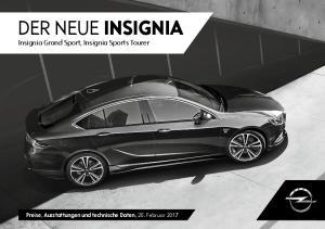 der neue insignia Insignia Grand Sport, Insignia Sports Tourer