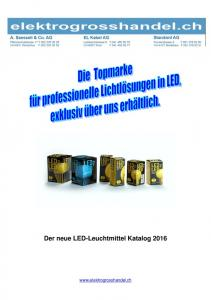 Der neue LED-Leuchtmittel Katalog 2016