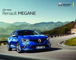 Der neue. Renault MEGANE