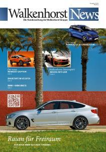 Der neue. Walkenhorst Motorsport NEUES ART-CAR. Der neue. Die Kundenzeitung der Walkenhorst Gruppepe RENAULT CLIO GRANDTOUR RENAULT CAPTUR