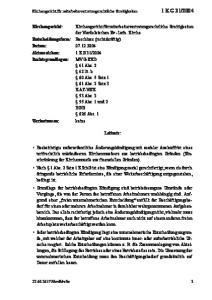 der Nordelbischen Ev.-Luth. Kirche 41 Abs lit. b 60 Abs. 5 Satz 1 61 Abs. 2 Satz 3 KAT-NEK 53 Abs Abs. 1 und 2 BGB 626 Abs