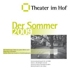 Der Sommer Theater im Hof
