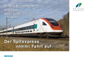 Der Spitexpress nimmt Fahrt auf