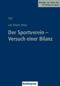 Der Sportverein Versuch einer Bilanz