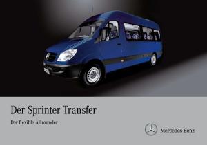 Der Sprinter Transfer. Der flexible Allrounder