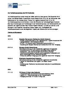 Der Verkehrsausschuss der IHK Karlsruhe