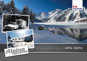 Der Vier-Jahreszeiten Caravan adria alpina