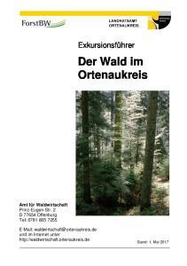 Der Wald im Ortenaukreis