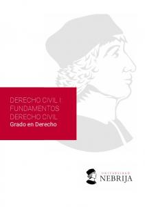 DERECHO CIVIL I: FUNDAMENTOS DERECHO CIVIL. Grado en Derecho