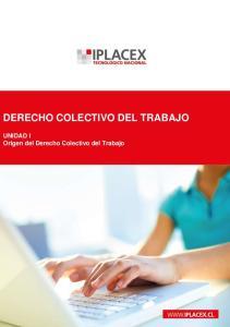 DERECHO COLECTIVO DEL TRABAJO