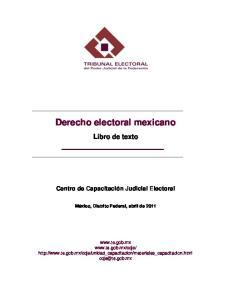 Derecho electoral mexicano