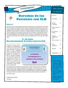 Derechos de los Pacientes con ELA