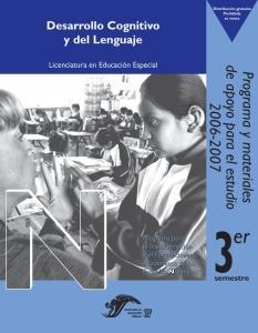 Desarrollo Cognitivo y del Lenguaje