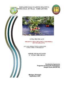 Desarrollo Participativo Integral Rural (DEPARTIR)