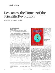 Descartes, the Pioneer of the Scientific Revolution