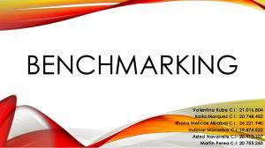 Describir los aspectos y los tipos de Benchmarking. Describir las fases para llevar a cabo el proceso de Benchmarking
