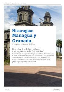 Descubre dos de las ciudades nicaragüenses más fascinantes