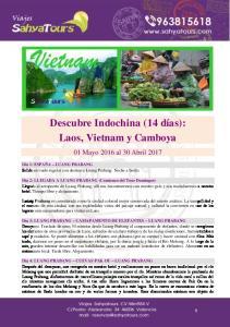 Descubre Indochina (14 días): Laos, Vietnam y Camboya