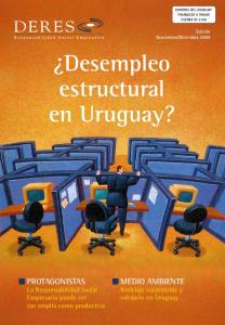 Desempleo estructural en Uruguay?