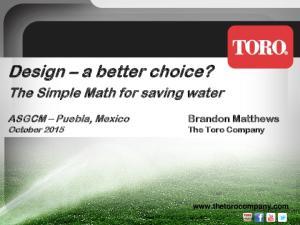 Design a better choice?