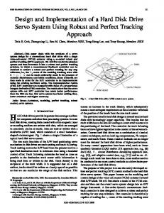Design and Implementation of a Hard Disk Drive Servo System Using Robust and Perfect Tracking Approach