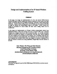 Design and Implementation of an IP-based Wireless Trolling System