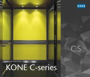 DESIGN CATALOGUE KONE C-series C7 C9