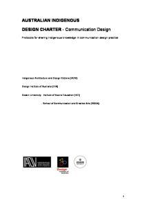 DESIGN CHARTER - Communication Design