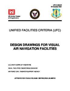 DESIGN DRAWINGS FOR VISUAL AIR NAVIGATION FACILITIES