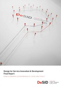 Design for Service Innovation & Development Final Report