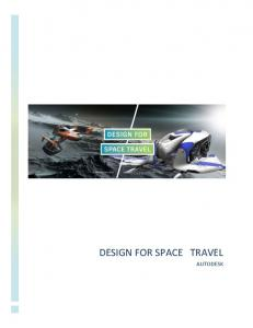 DESIGN FOR SPACE TRAVEL AUTODESK