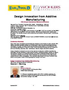 Design Innovation from Additive Manufacturing