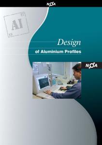 Design. of Aluminium Profiles