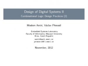 Design of Digital Systems II