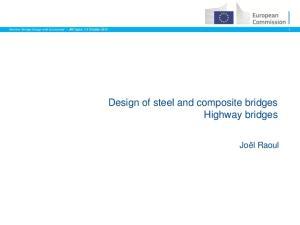Design of steel and composite bridges Highway bridges