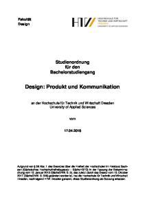 Design: Produkt und Kommunikation